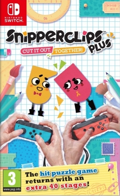 Snipperclips Plus Cut it out together!  Nintendo Switch